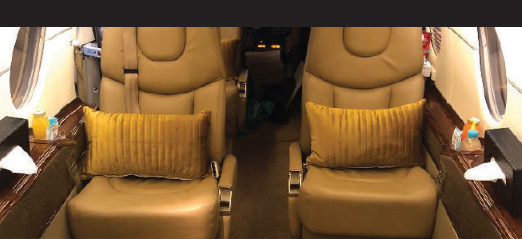 Interior Private Jet Pribadi