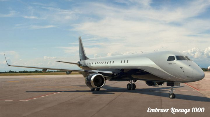 Bizliners Embraer Lineage 1000