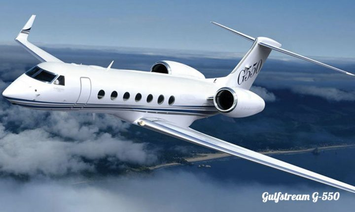 Heavy Jets Gulfstream G550