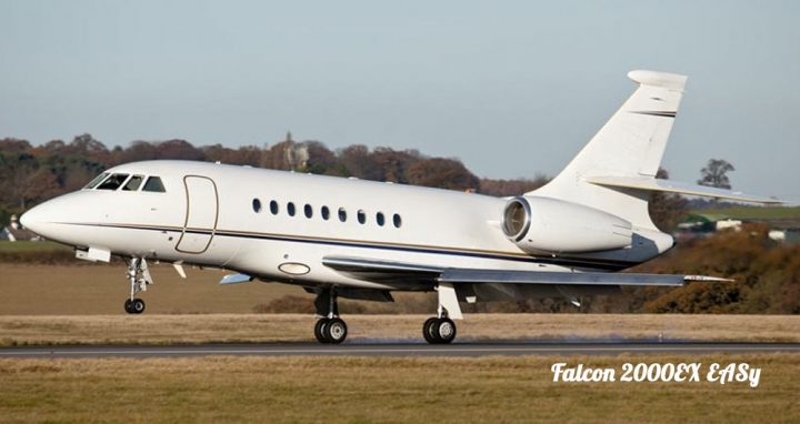 Large Cabin Jets Falcon 2000 EX EASy