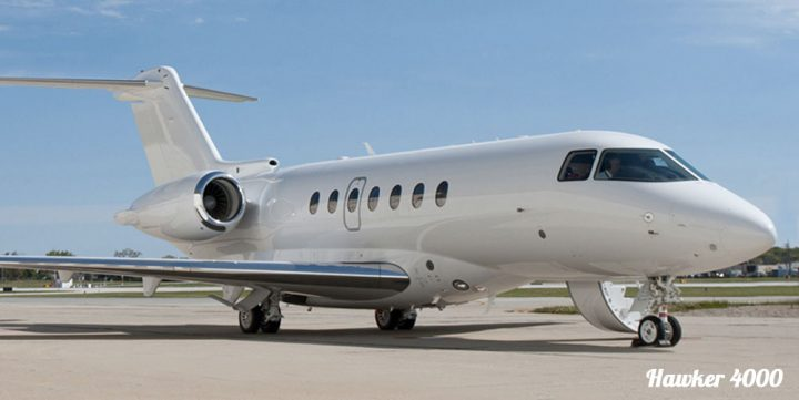 Super Mid Size Jets Hawker 4000